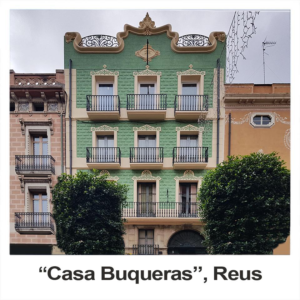 fachada catalogada Casa Buqueras