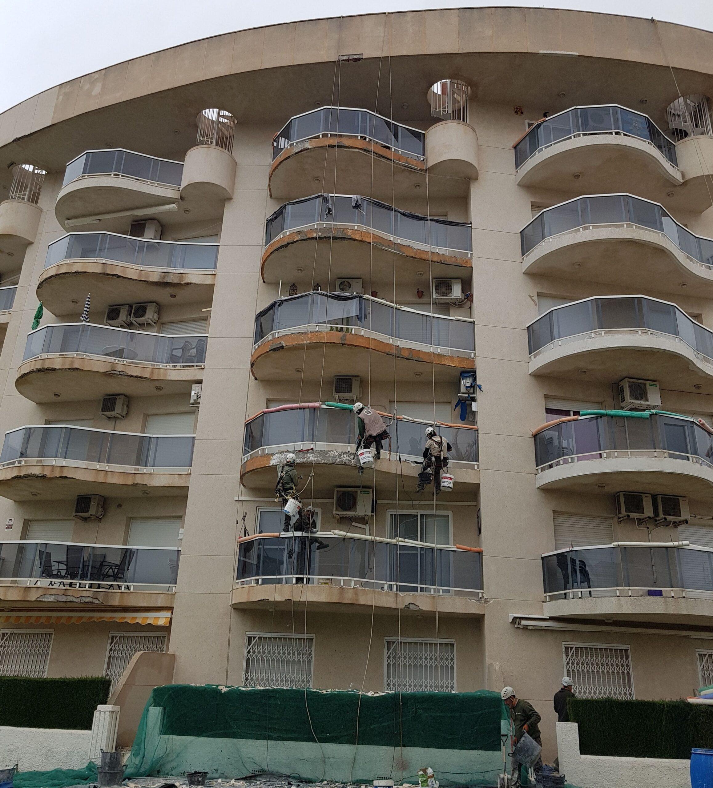 trabajo vertical fachada