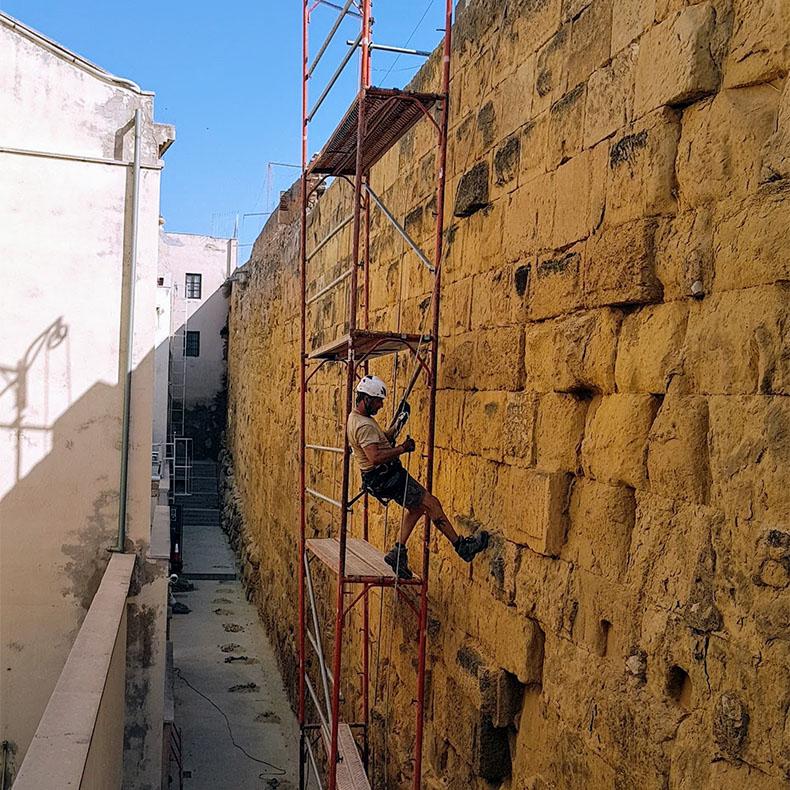 muralla del circo romano
