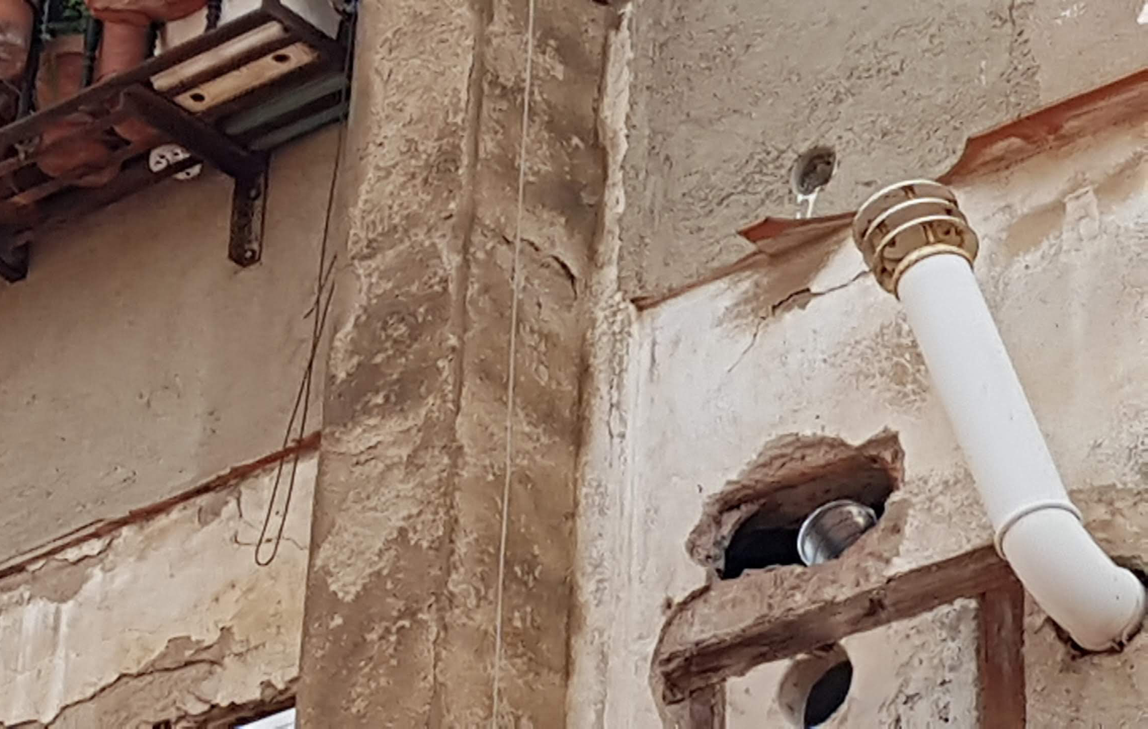 Inspección técnica edificios ITE, deficiencias fachada